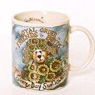 Boyd's Bears Sunny Day SUNFLOWERS Coffee Mug 1998