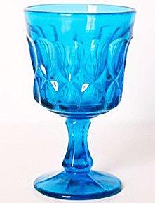 Noritake PERSPECTIVE BLUE Wine Glass Japan