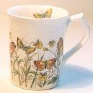 Otagiri Ivory Stone BUTTERFLY Coffee Mug Japan