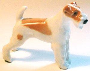 FOX TERRIER Figurine Dog