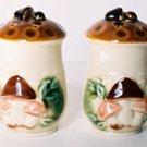 Japan MUSHROOM Salt & Pepper Shaker Set