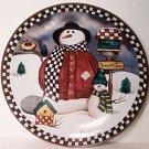 Laurie Korsgaden SNOWED INN Plate Collector