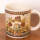 Debbie Mumm 12 DAYS OF CHRISTMAS Mug 3rd Day Sakura