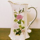 Floral CHRYSANTHEMUMS Pitcher Vase