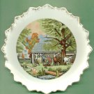 Japan AUTUMN NEW ENGLAND CIDERMAKING Currier & Ives Plate