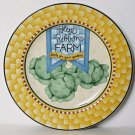 Debbie Mumm BLUE RIBBON Salad Plate Cabbage Sakura