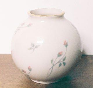 Lenox ROSE MANOR Globe Vase USA