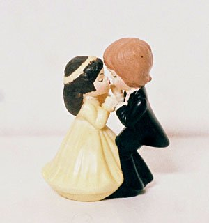 Wilton BRIDE & GROOM Wedding Cake Topper 1976
