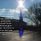 "STAIRWAY TO HEAVEN**8""X10""Original Matted Photo**Hebrew 2:11-13"
