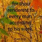 Fall Leaves, Jacobs Falls***Biblical/ Psalm 62:12