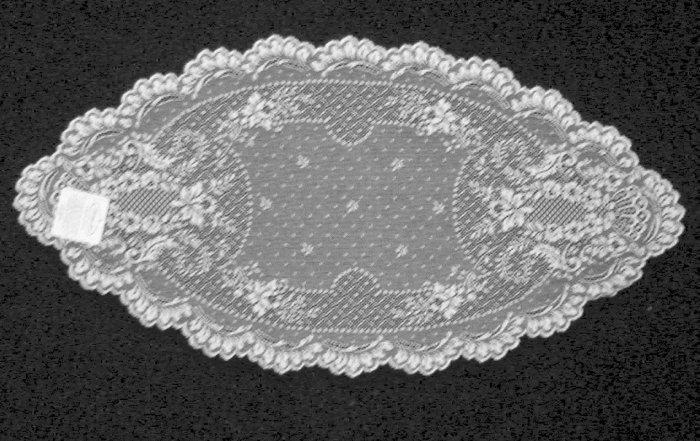 Doilies Floret 14x28 White Heritage Lace Set Of (2)