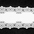 Heirloom Table Runner 14 Inches x 54 Inches White