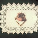 Placemats Heritage Lace Abundant Blessing Placemat 14 x 20 Ecru Set Of (4))
