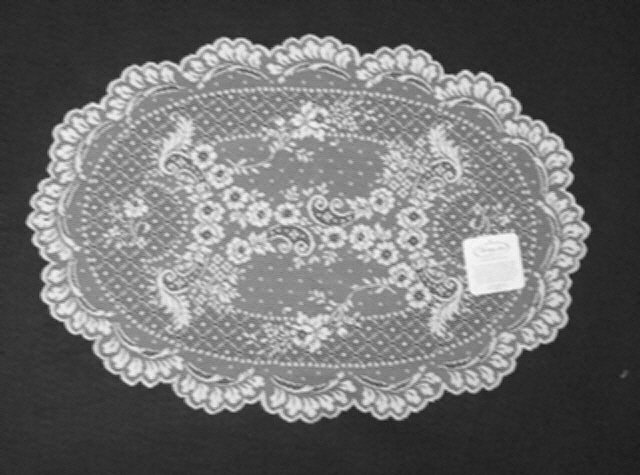 Floret Placemat 14 x 20 White Heritage Lace Set Of (4)