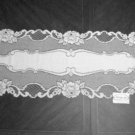 Vintage Rose Table Runner 14 x 48 White Heritage Lace