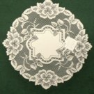 Heirloom Doily 16 in. Round Ecru Heritage Lace Set Of (2)