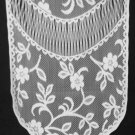 Jasmine Table Runner 14 x 48 Whiite Heritage Lace