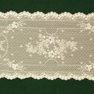 Floret Table Runner 14 x 38  Ecru Heritage Lace