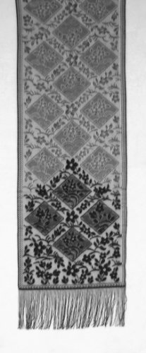 Chantilly Table Runner Black 16x84 Heritage Lace