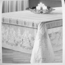 Lace Tablecloths Winter's Eve Tablecloth 60 x 60 White