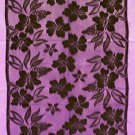 Table Runner Wildflower Essence Table Runner 15 x 58 or 78 Black