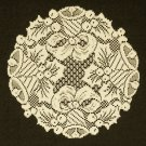 Doilies  Bells and Holly Doily 12 R Ivory Heritage Lace Set Of (2)