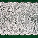 Table Runners Savoy 14 x 36 White Table Runner Heritage Lace