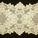 Table Runners Cleremont Lace 14 x 36 Ivory Heritage Lace