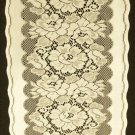 Table Runners  Roses n Bows Table Runner Ivory Color 14 x 70