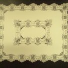 Tablecloths Heirloom Ivory 58 x 58 Square  Lace Tablecloth Heritage Lace
