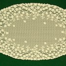 Lace Doilies Blossom 12x22 Ivory Heritage Lace Set Of (2)