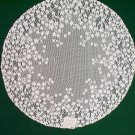 Lace Doilies Blossom 20 R White Heritage Lace Set of (2)