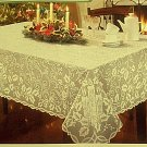 Christmas Tablecloth Holly Glow 60x126 Ivory Oxford House