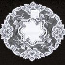 Doilies Heirloom Doily 16 Inch R White Doilies Heritage Lace Set Of (2)
