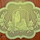 Placemats Silent Night Ivory 14x20 Set Of (4) Heritage Lace