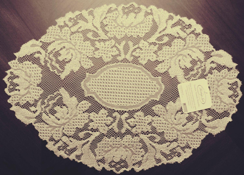 Doily Windsor Antique 12x16 Set Of (2) Heritage Lace