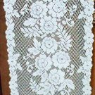 Table Runners Victorian Rose 13x72 White Table Runner Heritage Lace