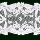 Table Runners Christmas Horns 14x36 White Table Runner Oxford House