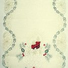 Noel Table Runner 15x54 Light Ivory Heritage Lace