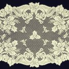 Doilies Horns and Holly Doily Ivory 20 x 26 Heritage Lace