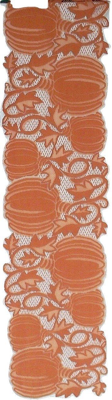 Table Runners Pumpkin Vine 14x60 Orange Table Runner Heritage Lace