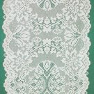 Table Runner Savoy White 14 x 54 Lace Table Runner Heritage Lace