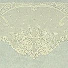 Mantle Scarf Angels Ivory 20x94 Mantel Scarf Heritage Lace