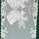 Angels Table Runner 14x52 IWhite Heritage Lace