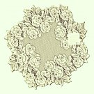 Doilies Tea Rose 15 R Ecru Doily Heritage Lace Set Of (2)