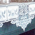 Mantle Scarf Heirloom 20x91 White Mantel Scarf Heritage Lace