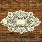 Heirloom Doily 12 x 20 Ecru Heritage Lace Set Of (2)