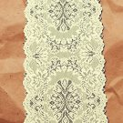Lace Runner Savoy Table Runner 14x54 Light Ivory Heritage Lace