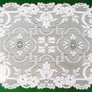 Placemats Filigree Table Linens White 14x19 Heritage Lace Set Of (4)
