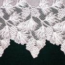 Woodland Mantle Scarf White 20 Inches x 88 Inches Heritage Lace